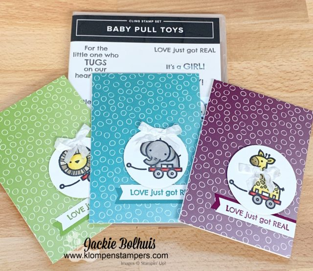 adorable handmade baby cards to make in minutes