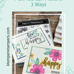 DIY Notecard Happy Mail You Can Make in 3 Ways