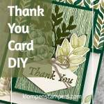 Thank You Card DIY