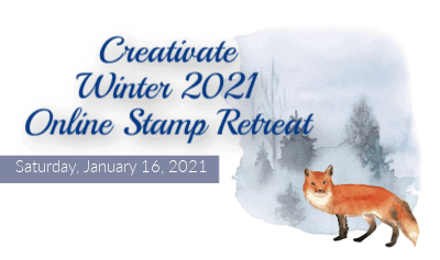 Don't Miss Out – Creativate Winter Stamping Retreat