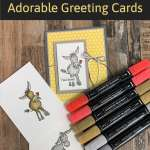 Stampin' Blends: How to Use Them to Make Adorable Greeting Cards