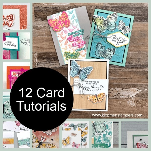 Get this free tutorial when you purchase the Butterfly Brilliance Collection Stampin' Up! item 159408