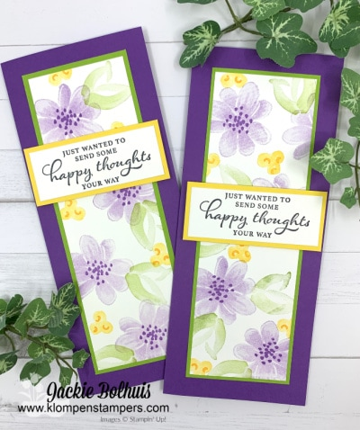 Stamping Cards With a Simple Layout Idea You'll Love