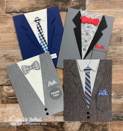 Snazzy Cards for Men that are Well Suited and Will be Loved!