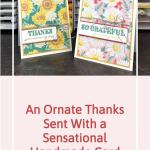 An Ornate Thanks Sent With a Sensational Handmade Card