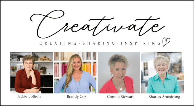 Creativate Team Members Jackie Bolhuis, Brandy Cox, Connie Stewart & Sharon Armstrong