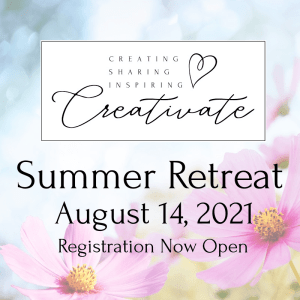 Creativate Summer Online Stamping Retreat- Registration Now Open!