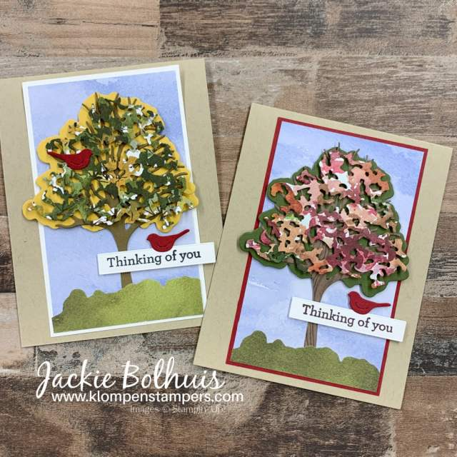 Handmade cards for men made with the 'Beauty of Friendship' stamp set by Stampin' Up!