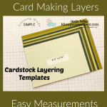 Card Making Templates Made Easy