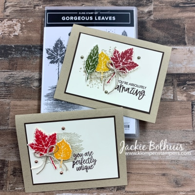 Can You Believe Beautiful Fall Cards Are This Easy To Make?