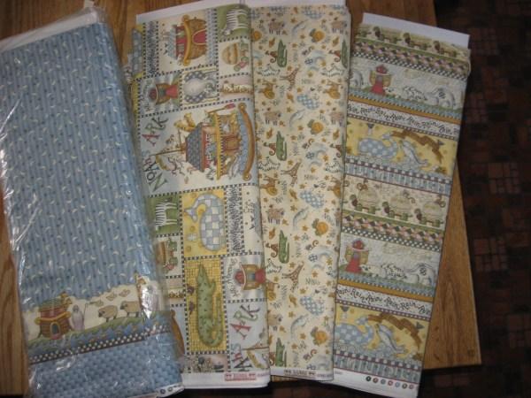 Noah's Ark Quilt Fabric