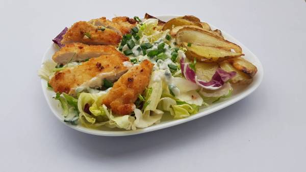 Pileći file Beli luk u prahu Krompir Pavlaka za kuvanje Mladi luk Limun Prezle Miks zelenih salata