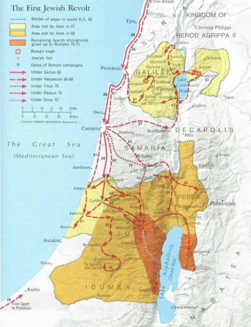 First Jewish Revolt (66-73 AD)