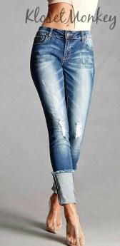cuffed jeans 311