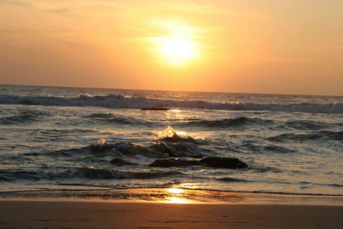 Sri Lanka Sonnenuntergang am Meer
