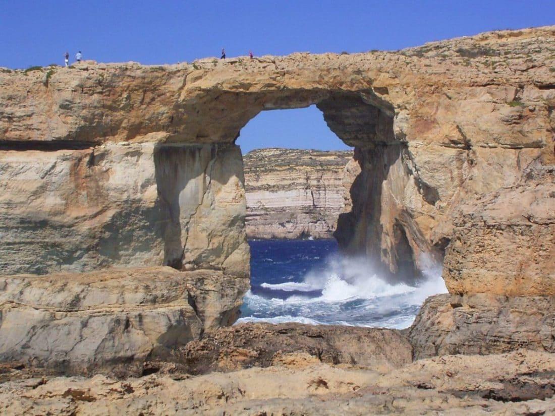 Klosterreisen, Malta, Gozo, Azurfenster, Azur Window