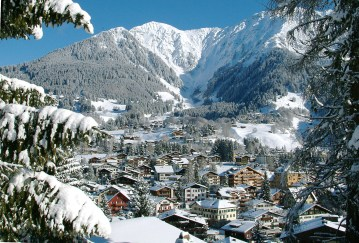 Klosters in the winter