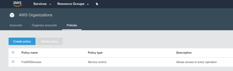 A Look at AWS Organizations' new SCP Controls - Kloud Blog