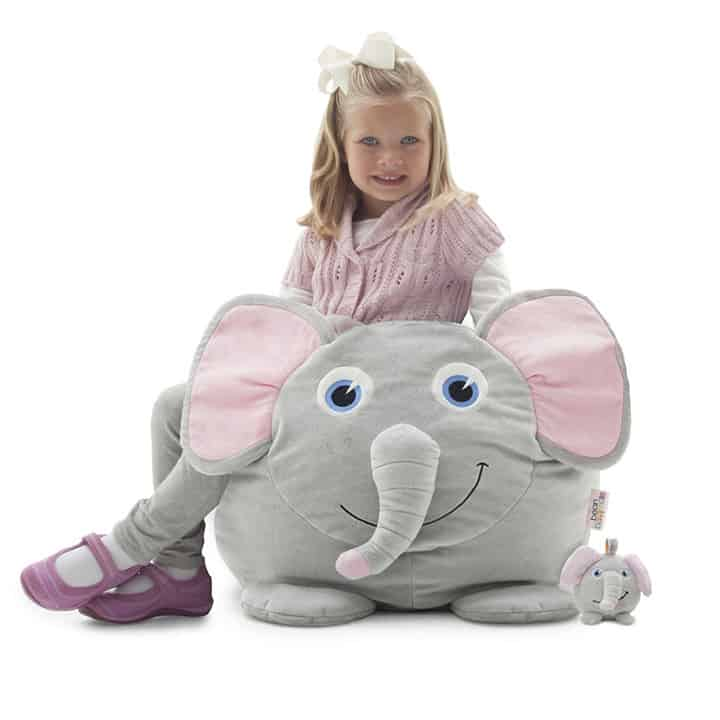 NEW Elle the Elephant Kids Bean Bag  eBay