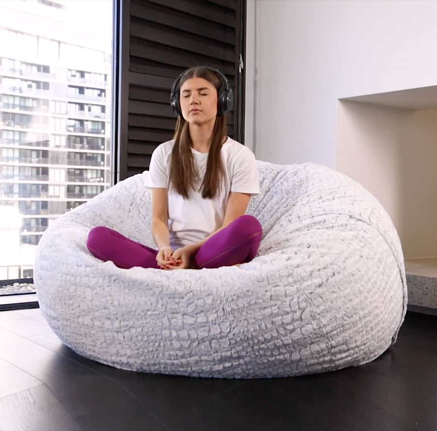 Love Sac Bean Bag Chair Designer Foam Filled Bean Bags In Australia Kloudsac
