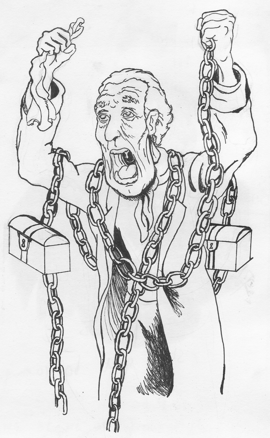 Christmas Carol Jacob Marley Quotes. QuotesGram