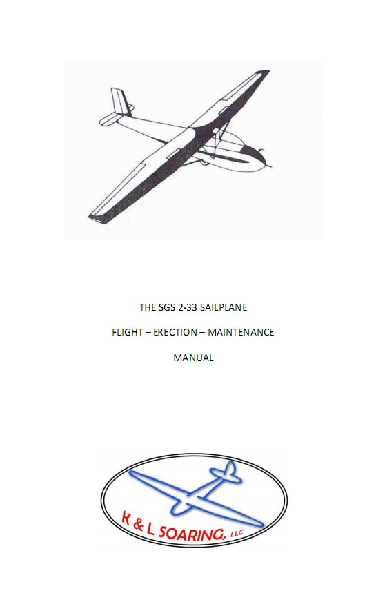 Aircraft Manuals: 2-33 Flight and Erection Manual