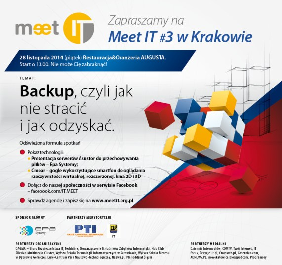 Meet IT vol. 3 w Krakowie