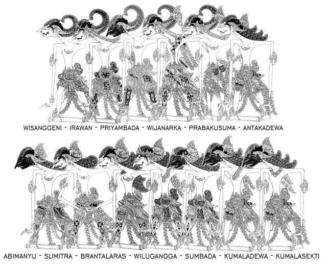 Bela kautaman, belani tumindak leres, jejegaken prakawis kanthi … Putra Putra Arjuna Revisi