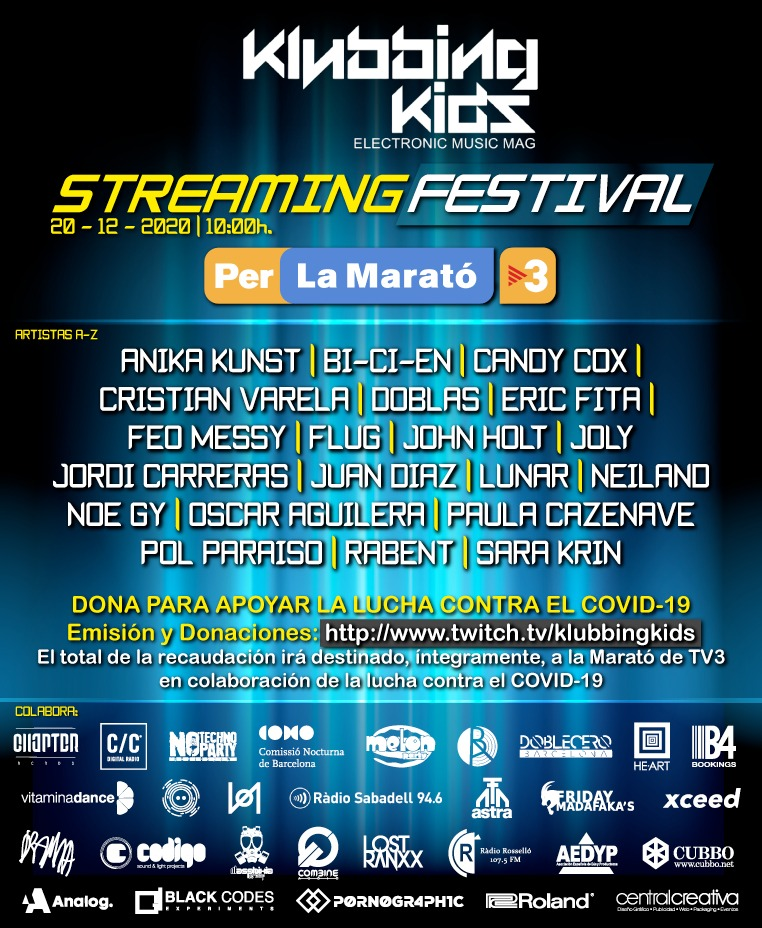 la marato tv3 klubbingkids streaming festival