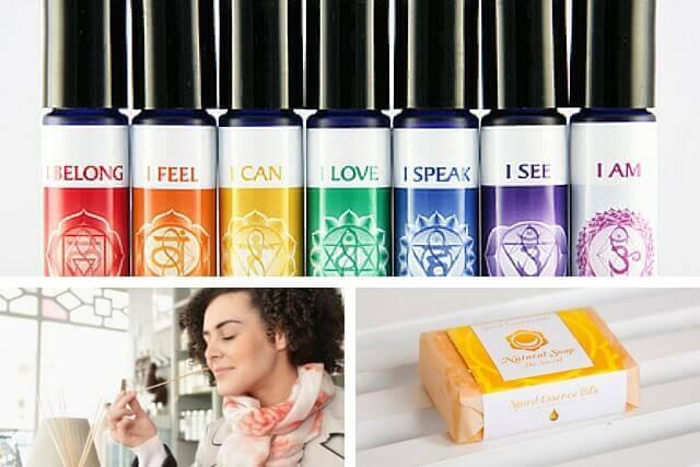 how to open chakras: fragrances