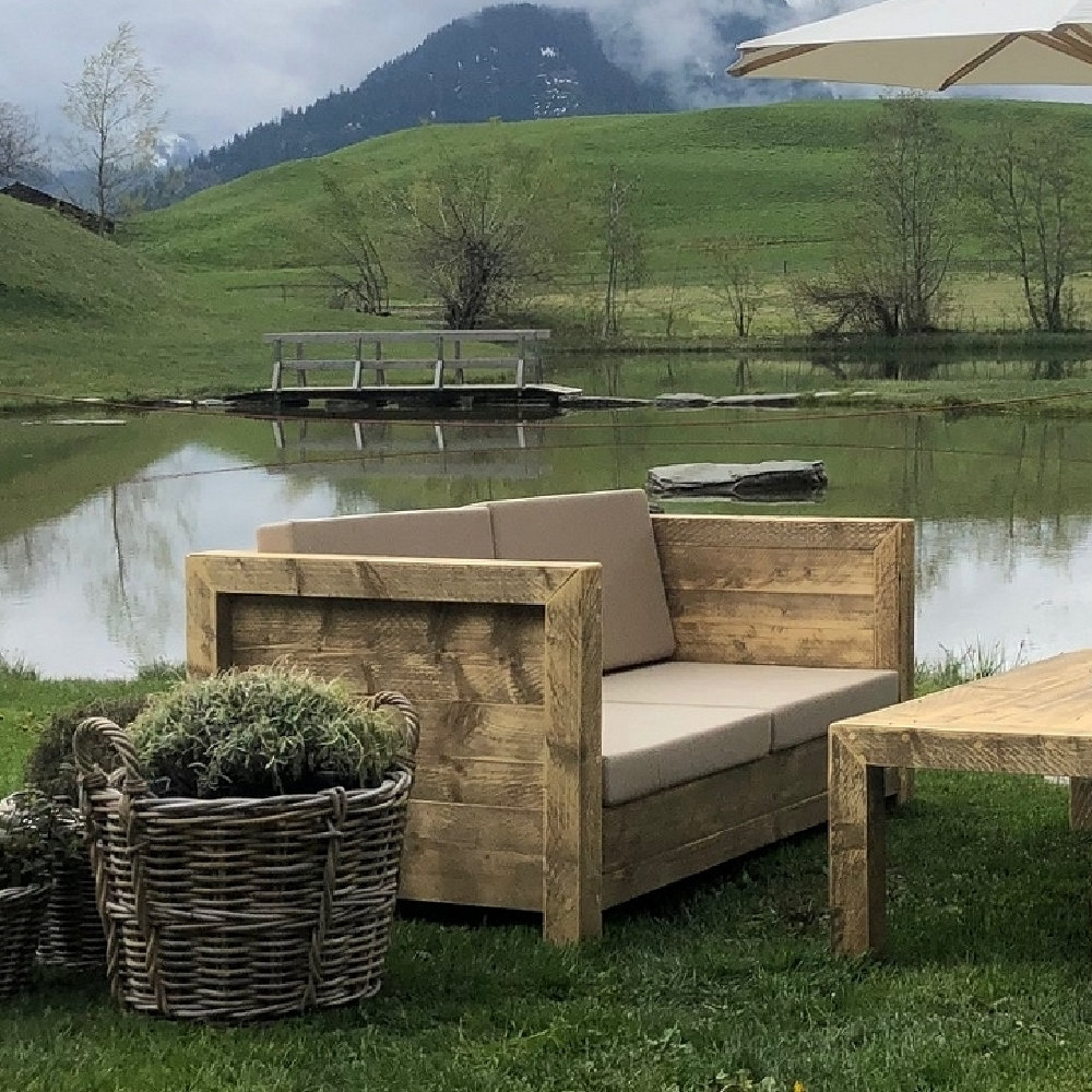 Bauholz Loungesofa Individualisierbar Timber Classics