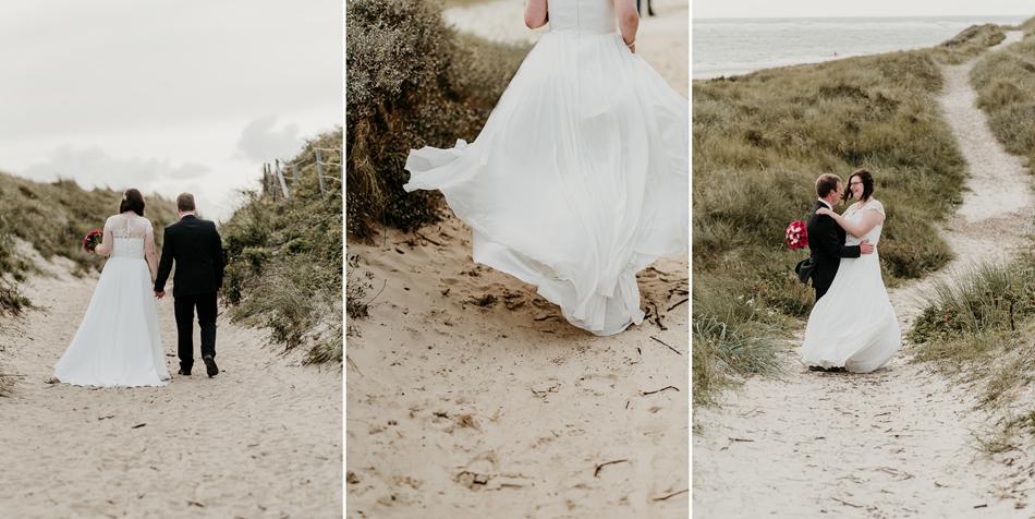 Trauung auf dem Leuchtturm in Blavand Hochzeitsfotografie Conni Klueter
