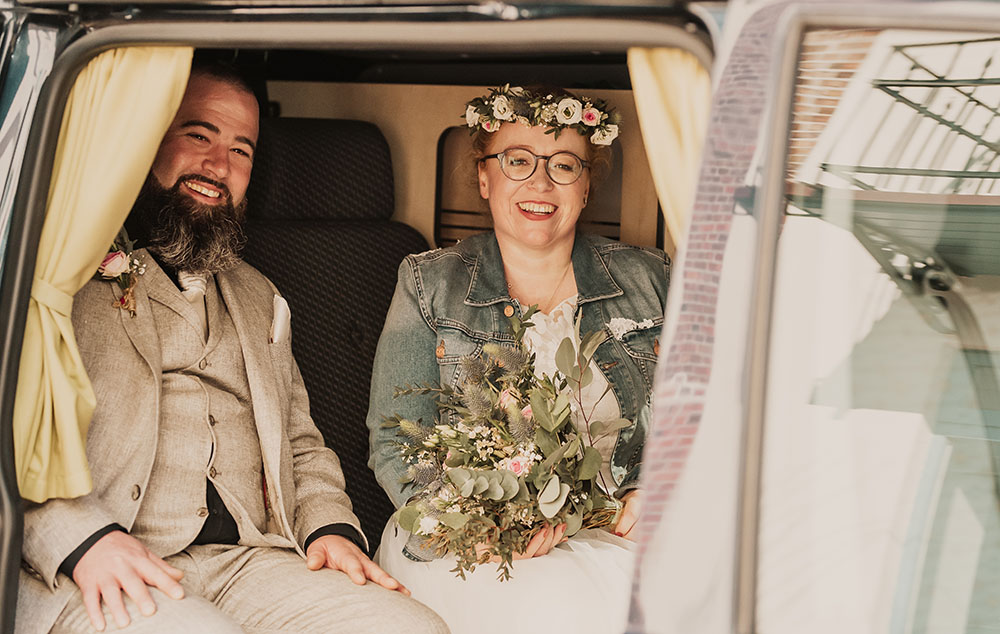 Auszug der Braut im Rathaus Arnis