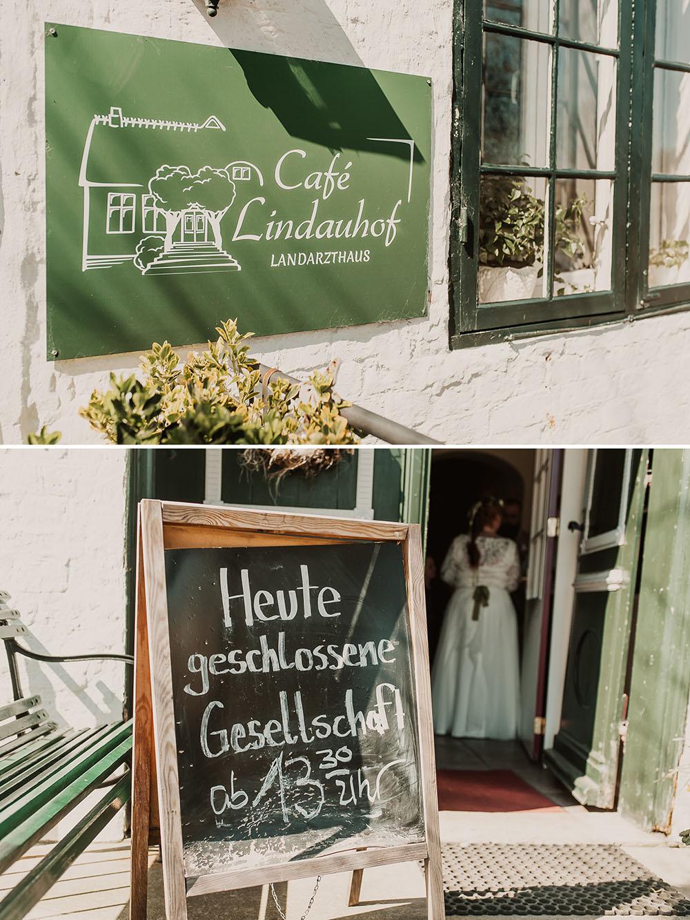 Hochzeitsfeier im Cafe Lindauhof
