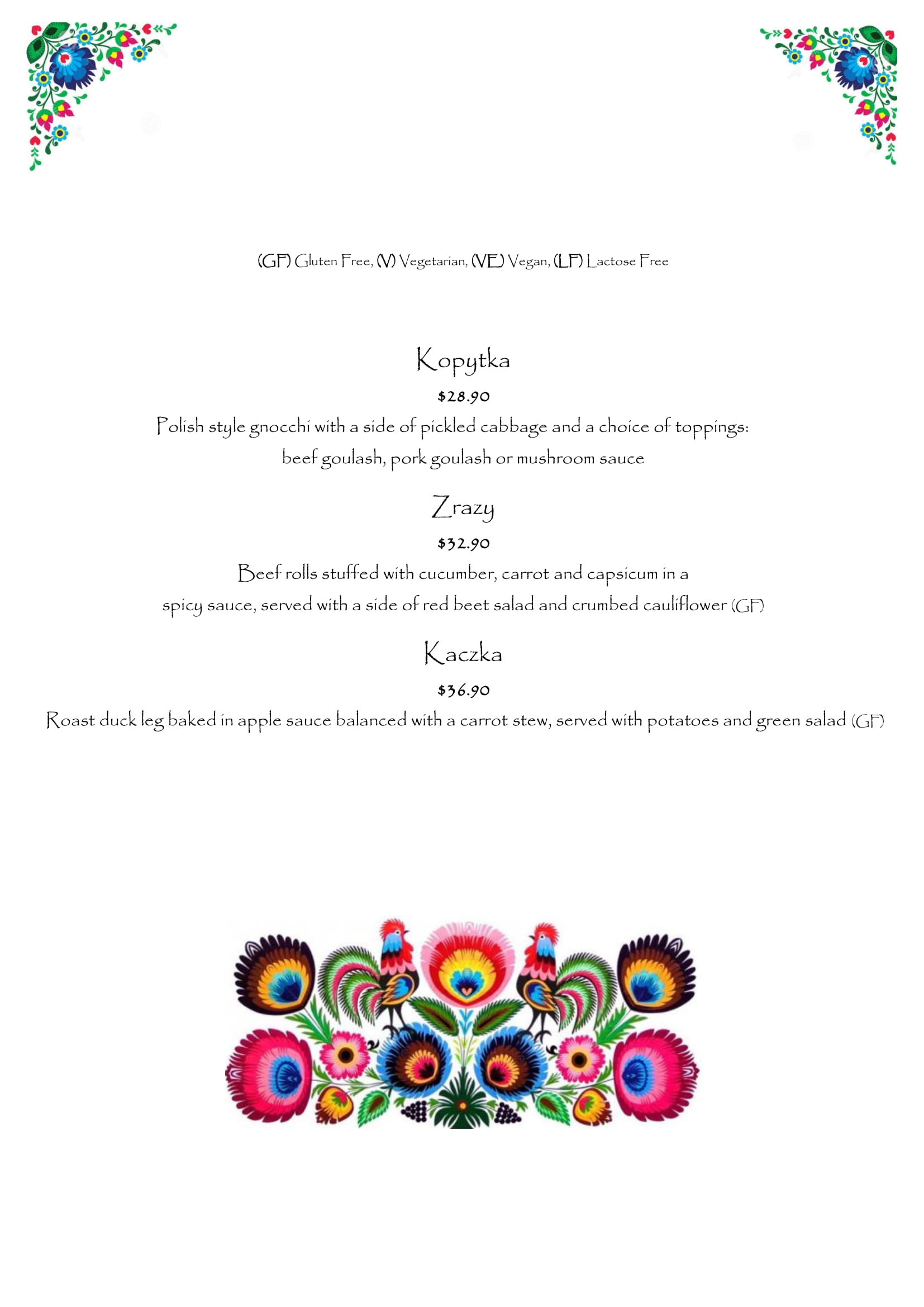 Menu - image Kluska-Menu-18.01.2019-09 on https://www.kluskarestaurant.com.au