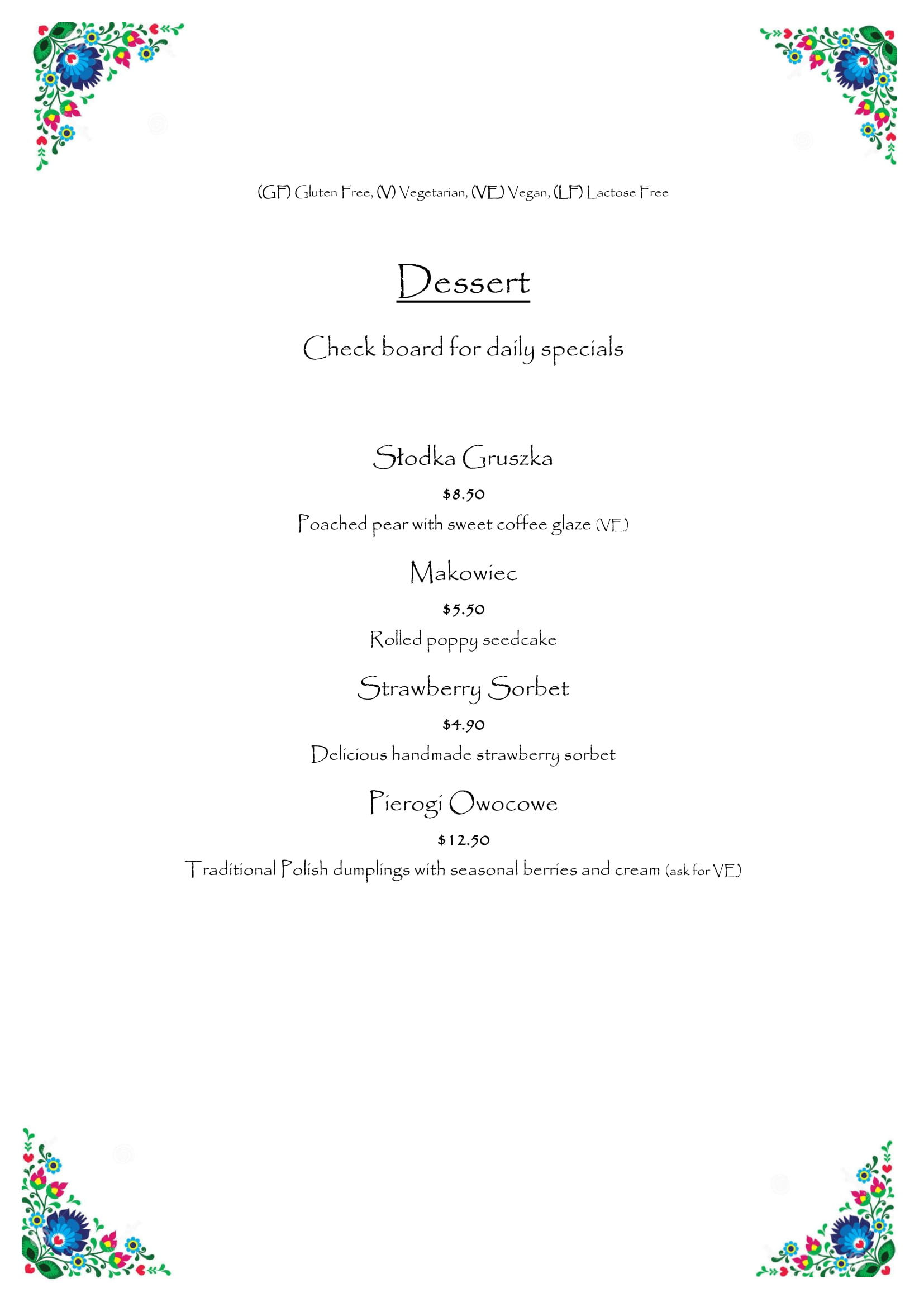 Menu - image Kluska-Menu-18.01.2019-10 on https://www.kluskarestaurant.com.au