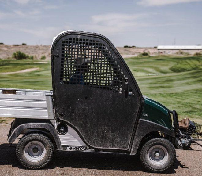 Golfkarretje gebruiken bij het klussen en meer