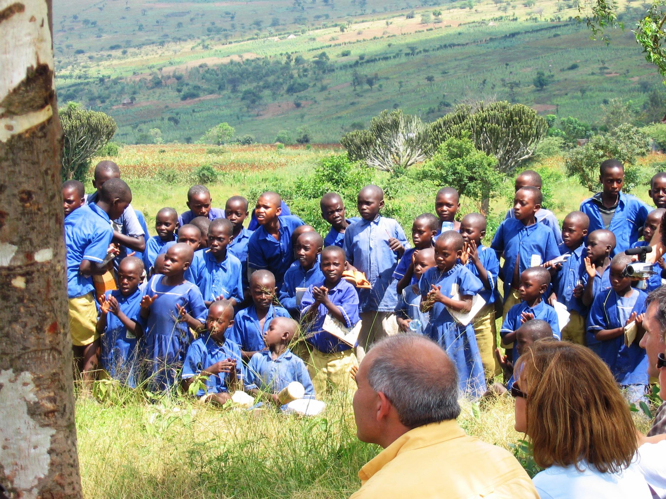 Gacundezi Secondary School, celebration 2, c-u