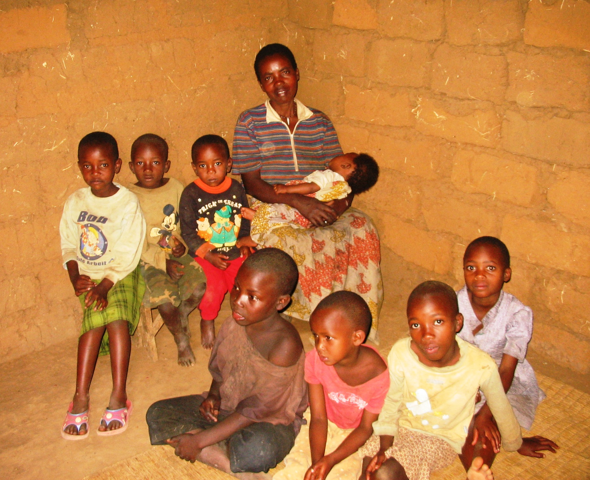 Rwimyaga, home visit family