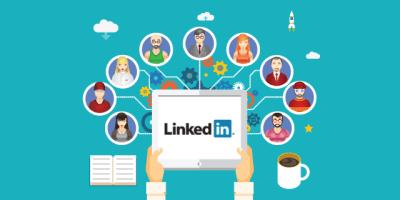 LinkedIn Networking Illustration via brosgroup.es