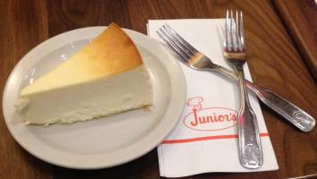 Junior's NYC Cheesecake in New York City Times Square Broadway