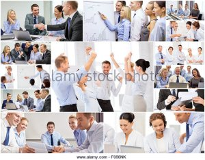 Alamy.com Awful Business Stock Photo Collage