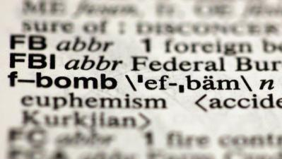 F Bomb in Dictionary
