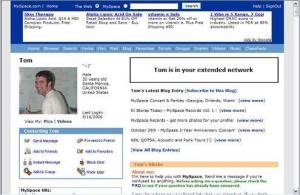Myspace Profile Example