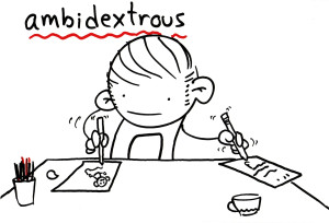 Ambidextrous? You Should Be.