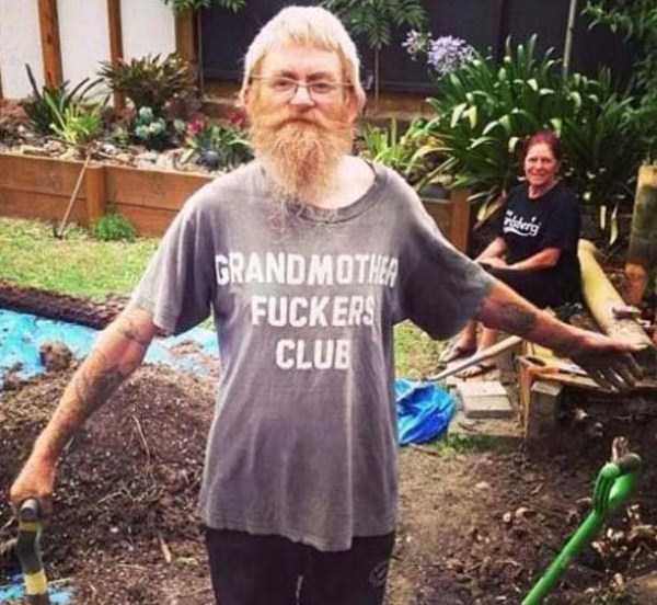 Epic Animal Wallpapers Elderly People Wearing T Shirts With Obscene Messages 27