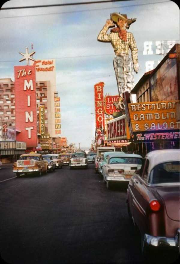 35 Color Photos Of Las Vegas In The 1950s Klyker Com