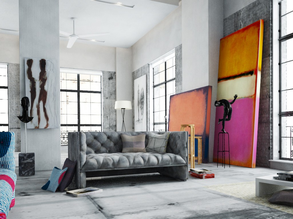large artwork for living room bar area in supersize art 5 big ideas king mcgaw introduce warmth a cool interior