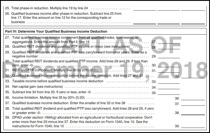 Lacerte Complex Worksheet Section 199a
