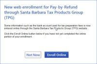 Setup ProSeries and Enroll in Pay-by-Refund with Santa ...
